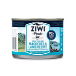 Ziwi Ziwi Peak Wet Cat Food Mackerel And Lamb
