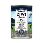 Ziwi Ziwi Peak Wet Dog Food Beef 12 x 390g