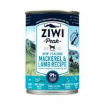 Ziwi Ziwi Peak Wet Dog Food Mackerel And Lamb 12 x 390g