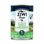 Ziwi Ziwi Peak Wet Dog Food Tripe And Lamb 12 x 390g