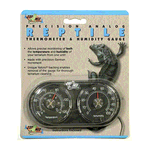 Zoo Med Zoo Med Dual Thermometer Humidity Gauge