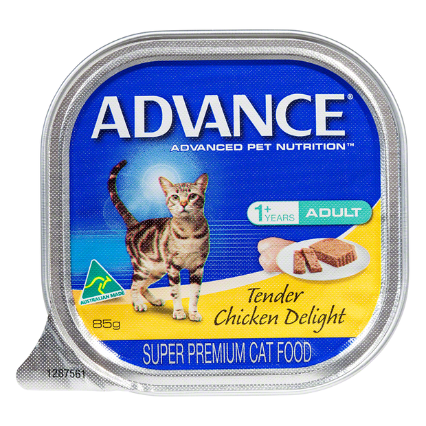 Advance Cat Adult Tender Chicken Trays