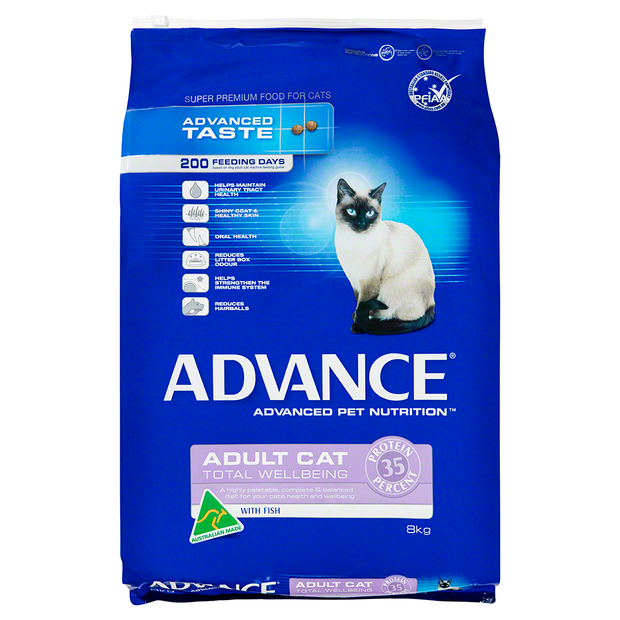 Advance Cat Adult Total Wellbeing Fish