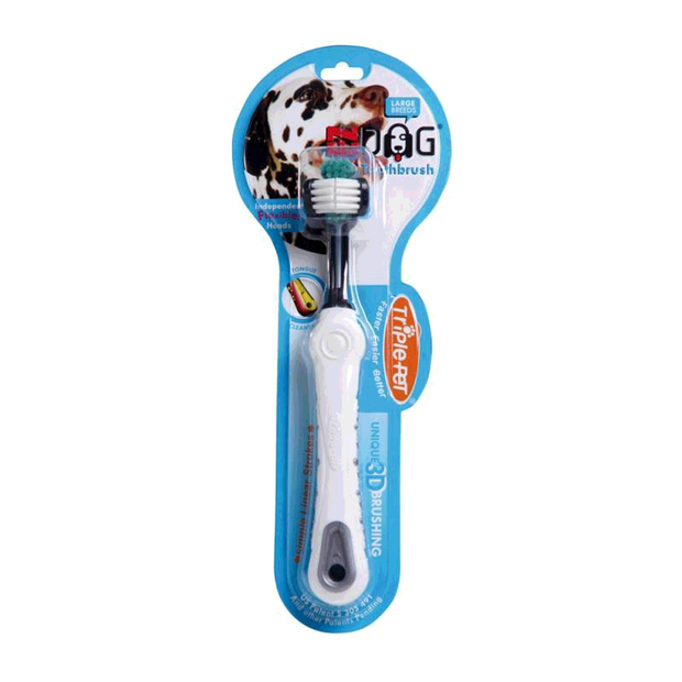 Ezdog Toothbrush Large Breeds Each