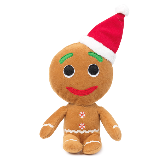 Fuzzyard Gingerbread Man With Xmas Hat