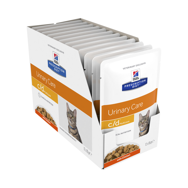 Hills Cd Cat Food Pouches