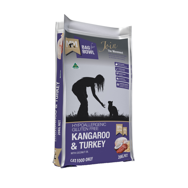 Meals For Meows Kangaroo Turkey