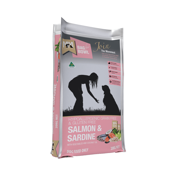 Meals For Mutts Grain Free Salmon Sardine