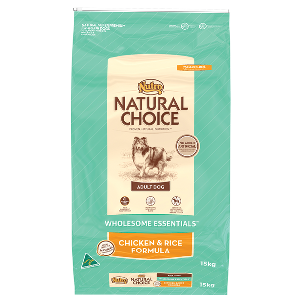 Nutro Natural Choice Dog Chicken Rice