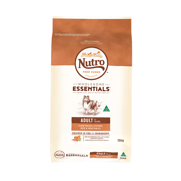 Nutro Wholesome Essentials Dry Dog Food Adult Chicken And Rice
