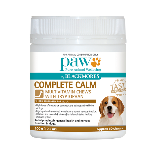 Paw Blackmores Complete Calm Chews
