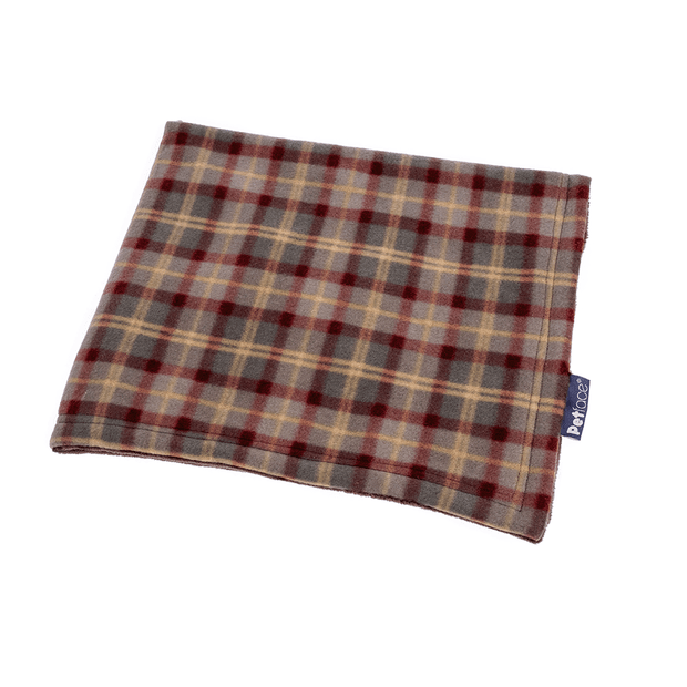 Petface Comforter Country Check Fleece