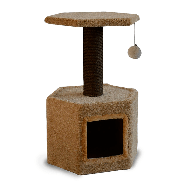 Playmate Cat Tree Paperbark