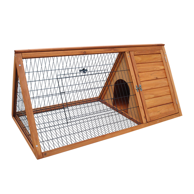playmate triangle hutch pet circle