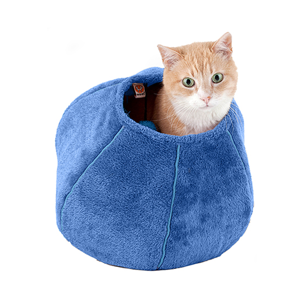 United Pets Cat Cave Blue
