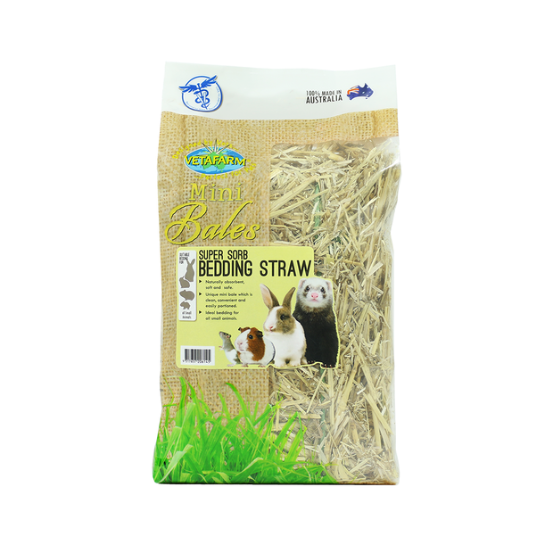 vetafarm-furry-friends-super-sorb-bedding-straw-mini-bales primary