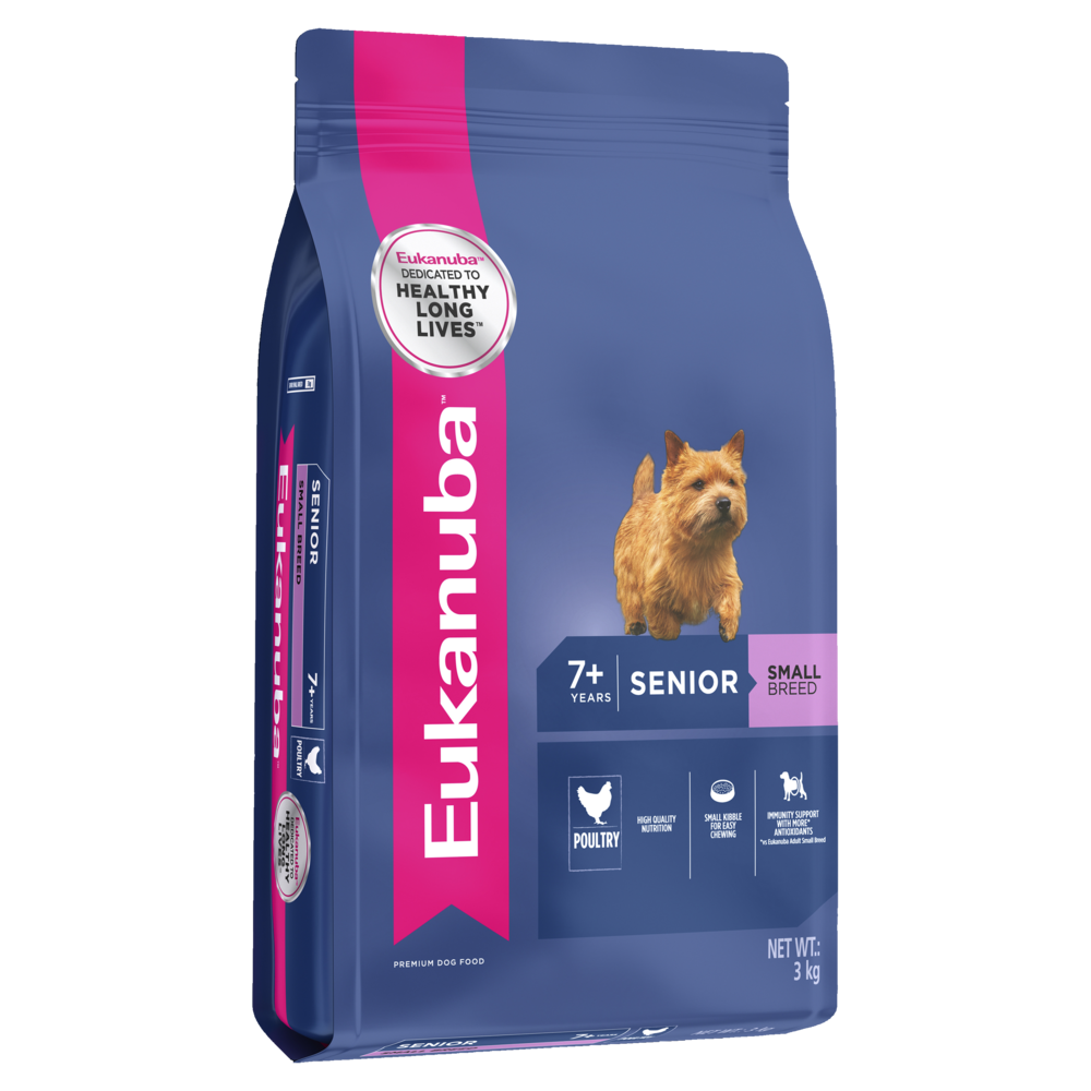Eukanuba Senior Small Breed Dog Food  Kg