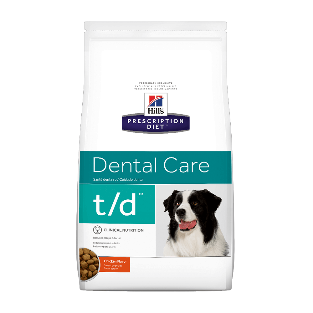 td oral dog food
