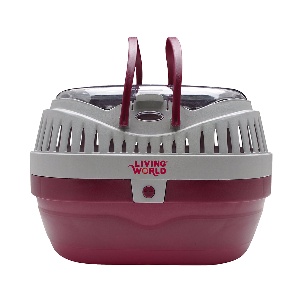 Pets At Home Purple Carrier