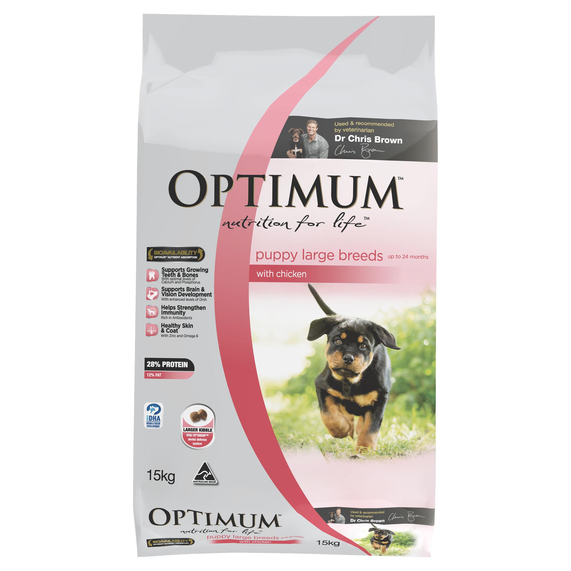 Optimum Dog Food Large Breed