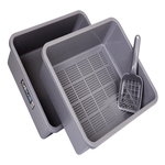 catmate-cat-litter-trays-3-piece-charcoal