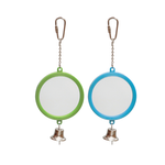 kazoo-round-mirror-with-bell-green-purple