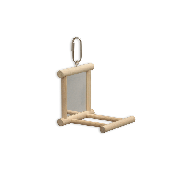 kazoo-mirror-with-perch-wooden-natural
