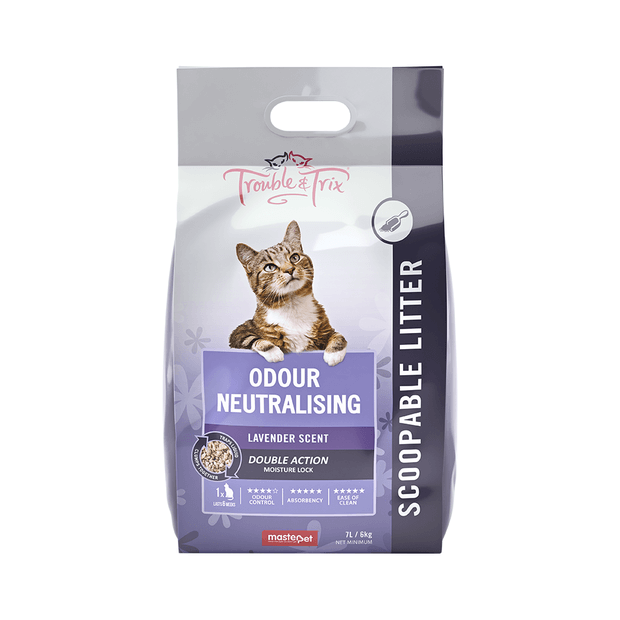 Trouble And Trix Natural Litter Lavender