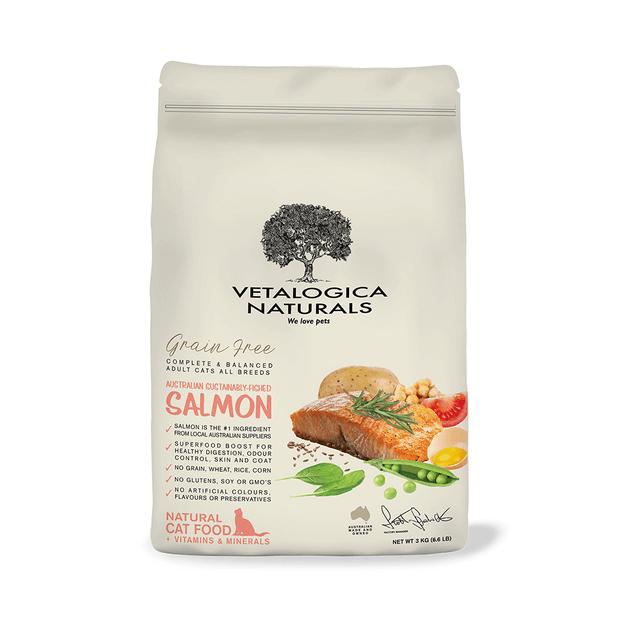 Vetalogica Naturals Grain Free Cat Food Adult Salmon