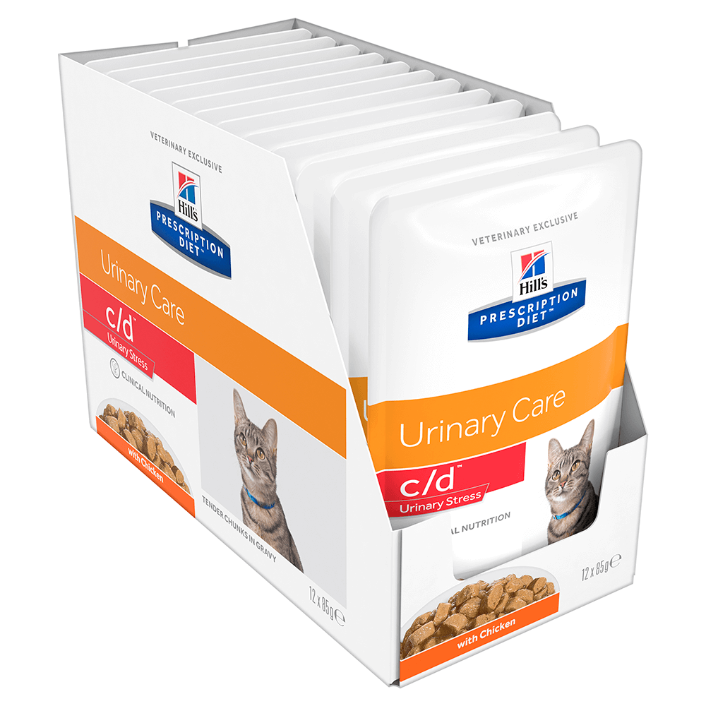 Hills Prescription Diet Cd Multicare Stress Cat Food